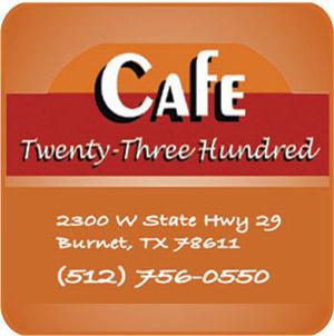 Cafe 2300