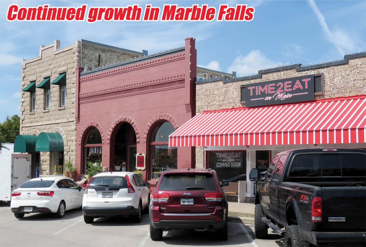 Continued growth in Marble Falls